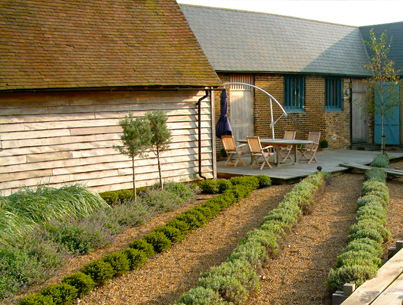 Garden Design project - Whitstable, Kent - Oakleigh Manor
