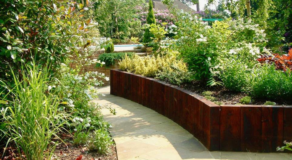 Garden Design Croydon London - Oakleigh Manor